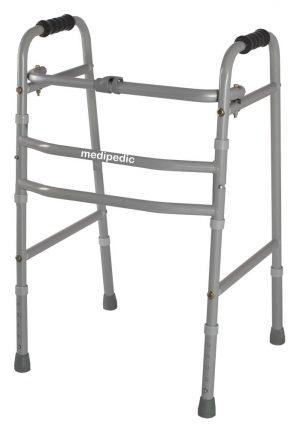 Medipedic Walker Plain - Double Bar