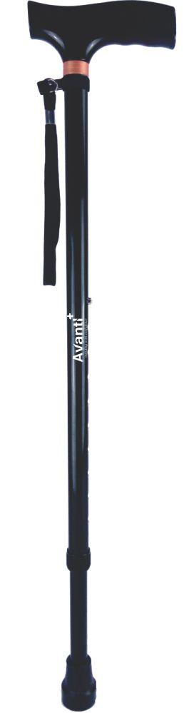 Avanti Black - T Shape Aluminium Stick