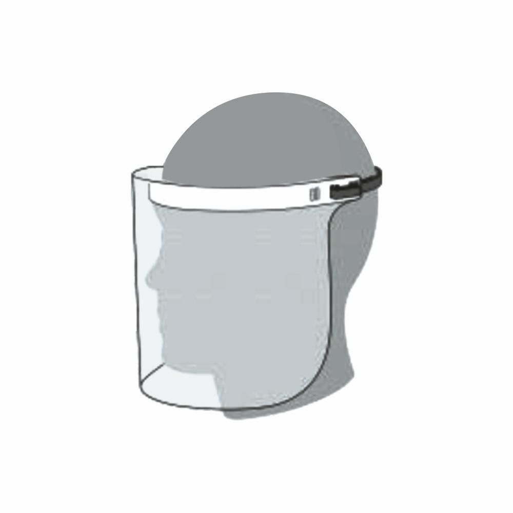 Swingable Protective Face Shield